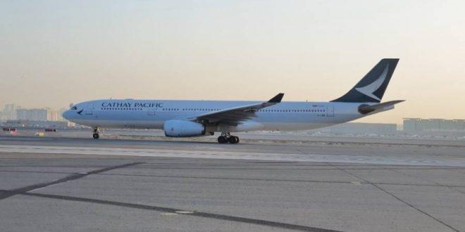 «كاثي باسيفيك» تستأنف رحلاتها بين دبي وهونغ كونج