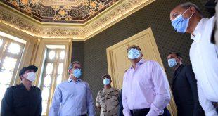 رئيس الوزراء يتفقد أعمال ترميم ورفع كفاءة قصر محمد علي بشبرا الخيمة