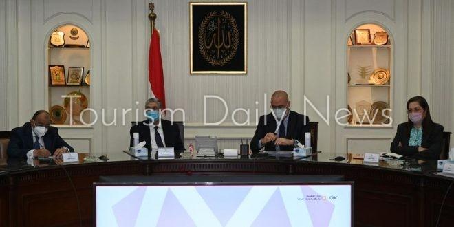 8 وزراء يستعرضون مشروع مخطط تنمية البوابة الاقتصادية الشمالية الشرقية لمصر