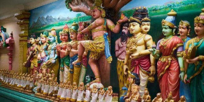 الهند تعيد إحياء معبد مخصص لألهة كورونا بالقرب من مدينة كويمباتور