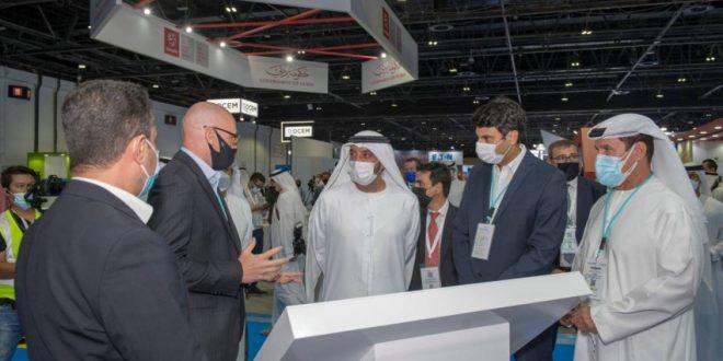 الشيخ أحمد بن سعيد يفتتح الدورة الـ20 من معرض المطارات بمركز دبي للمؤتمرات