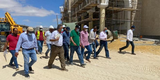 بيان من الإسكان حول مشروعات مدينة العلمين الجديدة لاستعراض الموقف التنفيذي