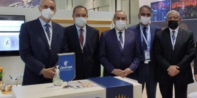 مصر للطيران تشارك في معرض سوق السفر العربي بدبي ATM