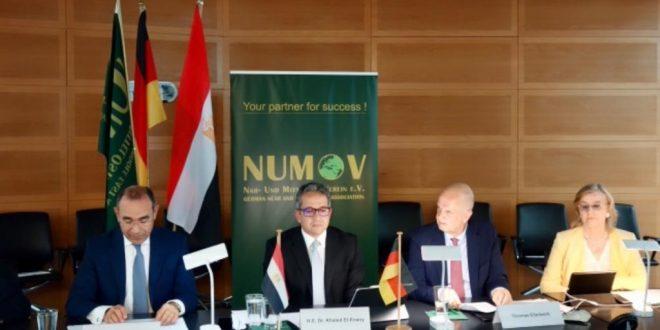 وزير السياحة متحدث رئيسي بمائدة مؤسسة الشرق الأوسط والأدني الألمانية NUMOV