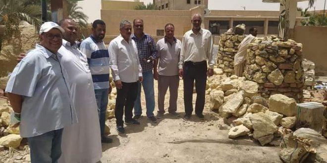 سيوة تجهز فرع مكتبة مصر العامة بمبنى مركز توثيق التراث لزيادة الوعي