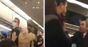 مصر للطيران مجددا: ليس لنا علاقة بخناقة النسوان المشاجرة بعيدة عن طائراتنا