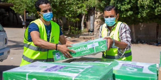 صندوق تحيا مصر يوفر 41 طن مواد غذائية ومطهرات للأطقم الطبية في 62 مستشفى