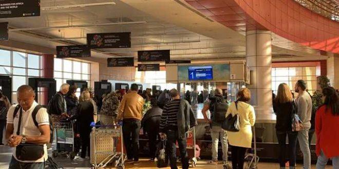 46 رحلة جوية دولية وداخلية تنقل 8 ألاف سائح بشرم الشيخ اليوم