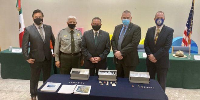 بعد خمس سنوات تحقيقات .. الولايات المتحدة تعيد 523 قطعة أثرية إلى المكسيك