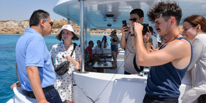 تنشيط السياحة تنظم رحلة تعريفية لإعلاميين أوكران لتنشيط الحركة الوافدة