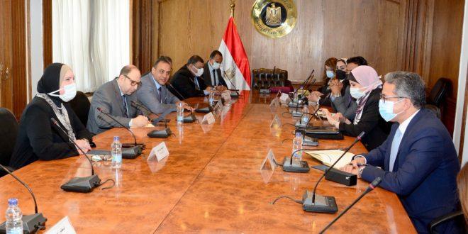 جامع والعناني يبحثان استعدادت مصر للمشاركة بمعرض إكسبو دبي 2020