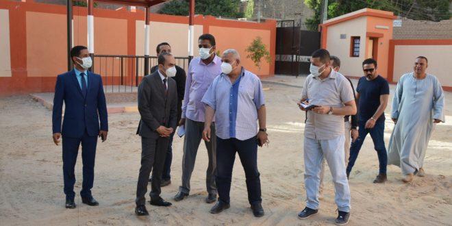نائب محافظ سوهاج يتفقد المنطقة الأثرية بأبيدوس