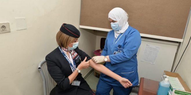 مستشفي مصر للطيران تبدأ تطعيم 60 ألف عامل بلقاحات مضادة لكورونا