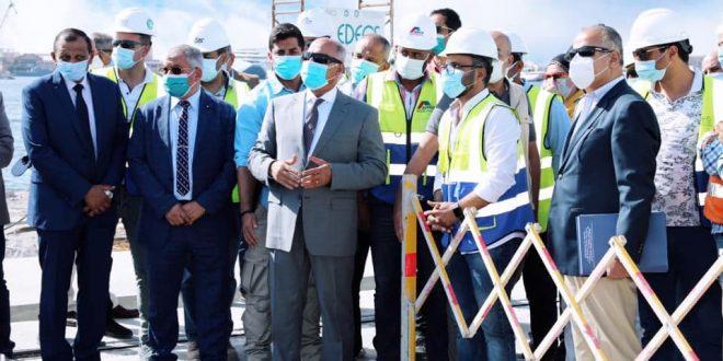 تطوير منظومة النقل البحري .. تنفيذ 63% من محطة ميناء الإسكندرية المتعددة