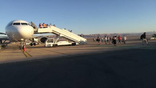 وصول طائرة روسية تقل أكثر من 160 سائحا إلى العقبة
