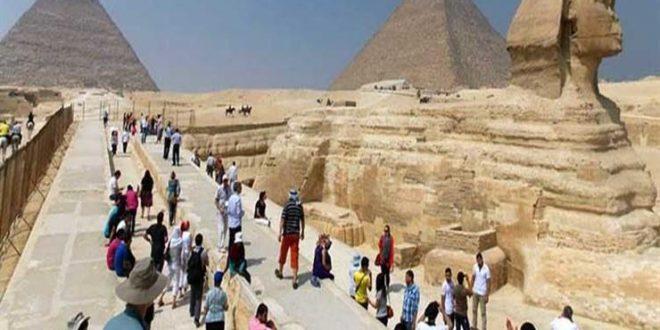 البنك المركزي : إيرادات السياحة تراجعت 67.4% إلى 3.1 مليار دولار في 9 شهور