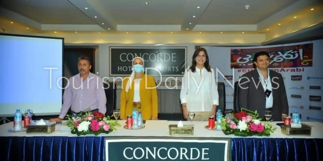 فندق كونكورد السلام شرم الشيخ يستضيف معسكر اتكلم عربي بحضور وزيرة الهجرة