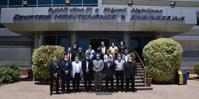 للعام 16 تجديد الإعتماد الأوروبي EASA لمصر للطيران للصيانة والأعمال الفنية