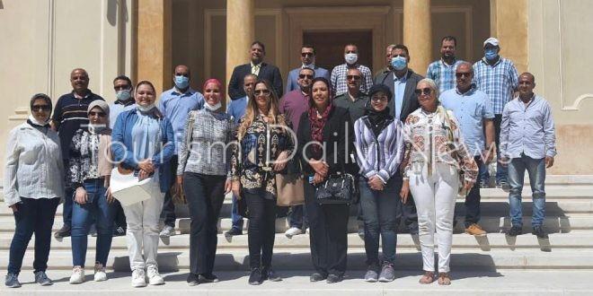 """نواب """"الثقافة والآثار"""" يستكملون جولة بالمتحف اليوناني الروماني بالأسكندرية"""
