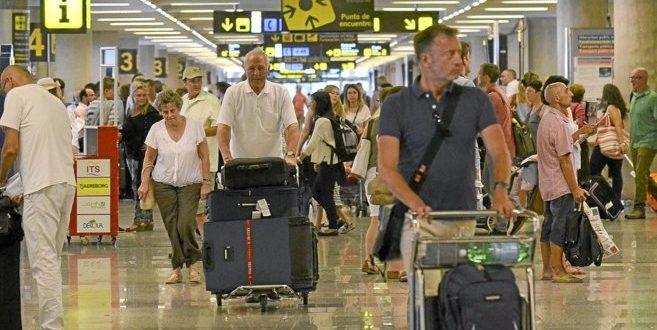 إسبانيا تستقبل 2.3 مليون مسافر خلال شهر يونيو عن طريق المطارات الدولية