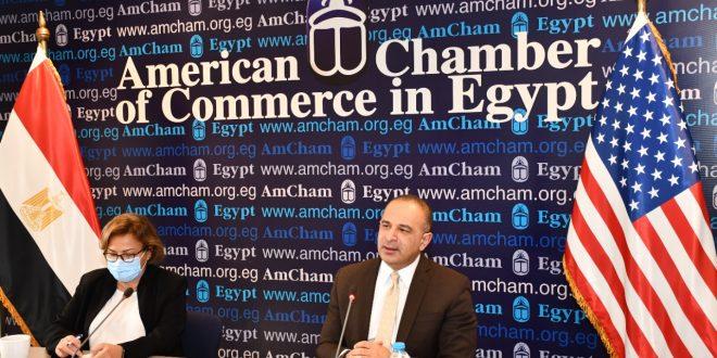 في ندوة غرفة التجارة الأمريكية : التخطيط تستعرض أسباب تحديث رؤية مصر 2030
