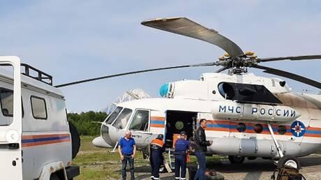 العثور على 19 جثة من بين ضحايا الطائرة الروسية المنكوبة في كامتشاتكا