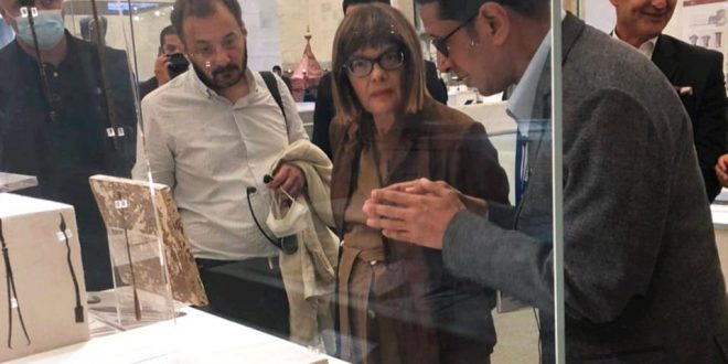 ضيوف مصر يتوافدون على المتحف القومي للحضارة المصرية