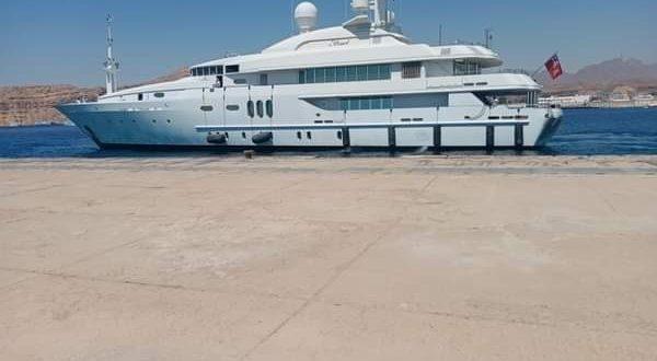 ميناء شرم الشيخ يستقبل يختين سياحيين قادمين من أبو ظبى على متنهما 25 شخصاً