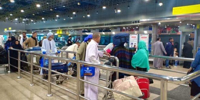 مطار القاهرة الدولي يشهد سفر ووصول 41 ألف راكب على متن 335 رحلة جوية