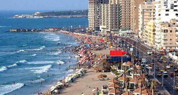 سياحة ومصايف إسكندرية تكشف عن 51 حجزا إلكترونيا للشواطئ ونسب إشغال 100%