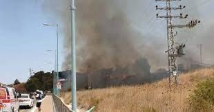الأعلى للآثار : السيطرة علي حريق بمنطقة آثار ميت رهينة