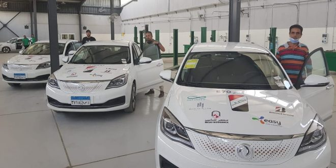 النصر للسيارات تبدأ تجربة السيارة الكهربائية E70 بالتعاون مع أوبر
