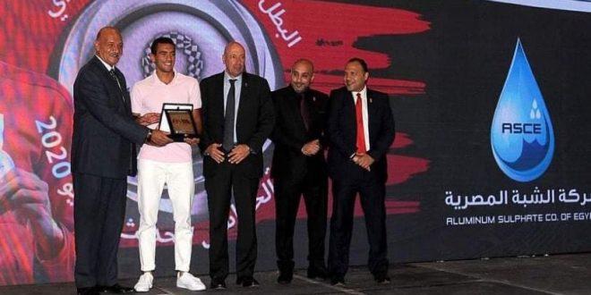 الشبة المصرية تكرم أحمد الجندي صاحب فضية أولمبياد طوكيو واتحاد الخماسي