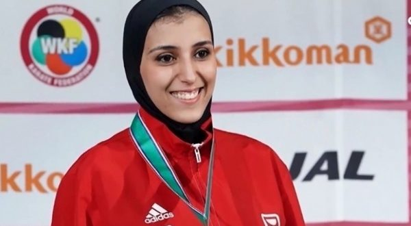 جيانا فاروق الفائزة ببرونزية بدورة الألعاب الأولمبية