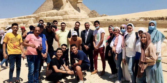 وزارة السياحة تنظم رحلة توعية للطلاب المتفوقين من أبناء شمال سيناء