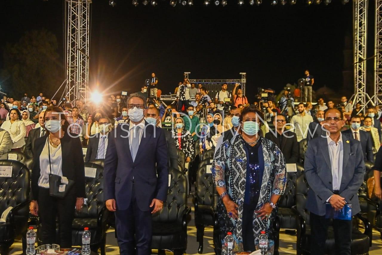 العناني يشارك في انطلاق الدورة 29 لمهرجان القلعة الدولى للموسيقى والغناء