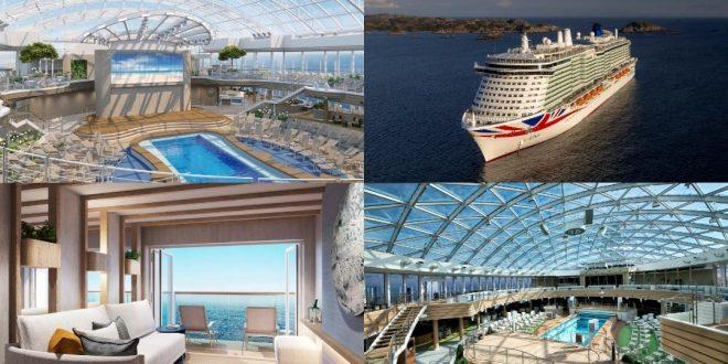 P&O البريطانية تكشف عن سفينة سياحية جديدة بتكلفة 700 مليون جنيه استرليني