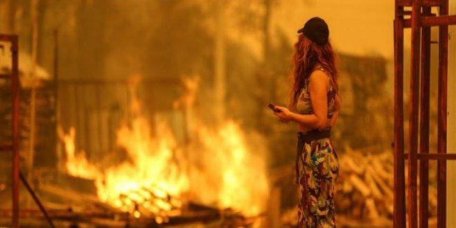 رويترز : أصحاب الفنادق يصرخون .. الحرائق أدت إلى إلغاء الحجوزات في تركيا