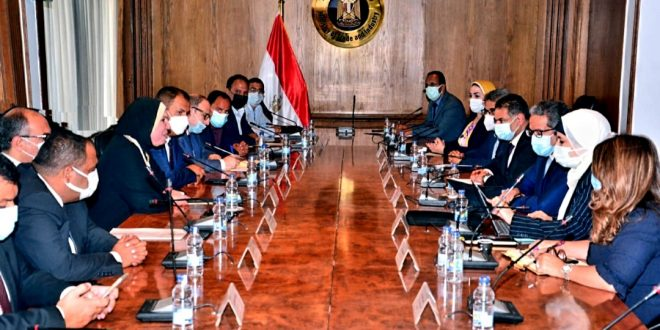 العناني وجامع يبحثان الاستعدادات النهائية لمشاركة مصر في اكسبو دبى2020