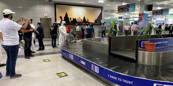 مطار الغردقة لاستقبال أول رحلة طيران روسية