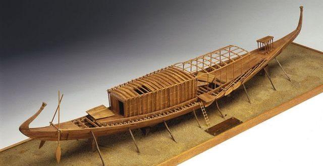 مركب خوفو الأول يصل بعربة ذكية بلجيكية للمتحف المصري الكبير غدًا