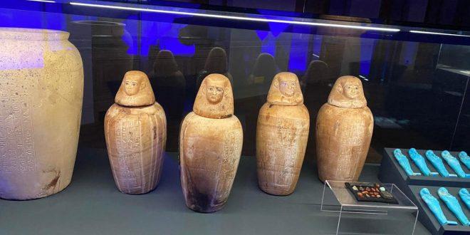 معرض الآثار الفرعونية ملوك الشمس يستضيف السفراء المعتمدين لدى التشيك