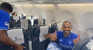 مصرللطيران تسير رحلة خاصة لنقل فريق الهلال السعودي بعد انتهاء معسكر النمسا