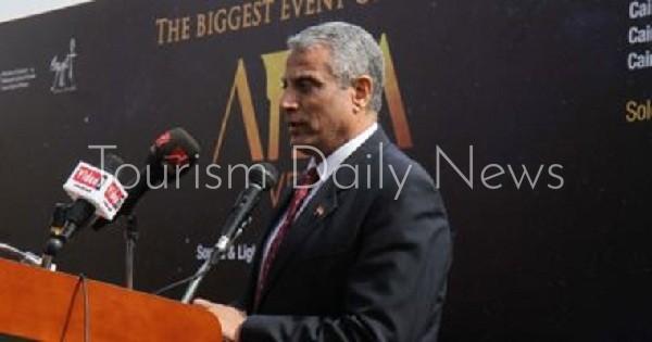 اللواء أحمد حمدى، المدير العام لشركة N.S.A.S Travel