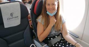 مصر للطيران الناقل للإعلامية رايا أبي راشد وضيوف ورشة عمل إكسبرت استوديوز