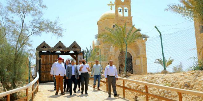 وزير السياحة يطلق مشروع درب الحج المسيحي في مأدبا الأردنية