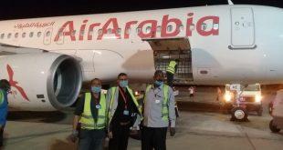 العربية للطيران تشكر شركة مصر للطيران للخدمات الأرضية