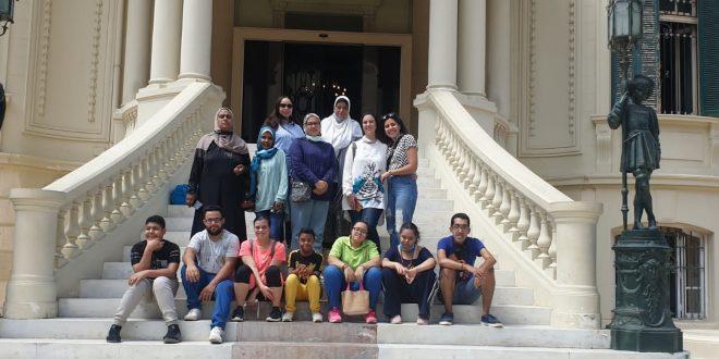 تنشيط سياحة إسكندرية تنظم زيارة لأبناء مؤسسة خيرية لمتحف المجوهرات الملكية