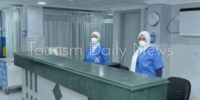 تجديد وحدة الرعاية المركزية بمستشفي مصر للطيران