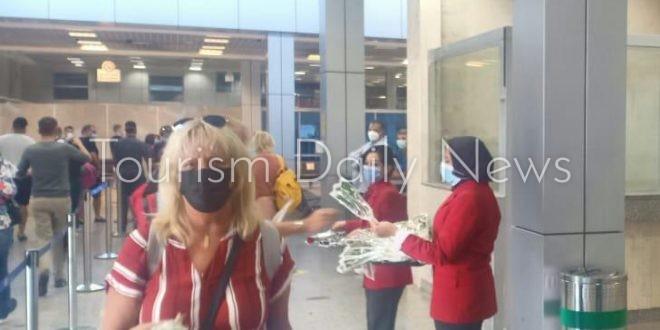 تقليد جديد في استقبال مطار شرم الشيخ لأولى رحلات خطوط Swiss Air السويسرية